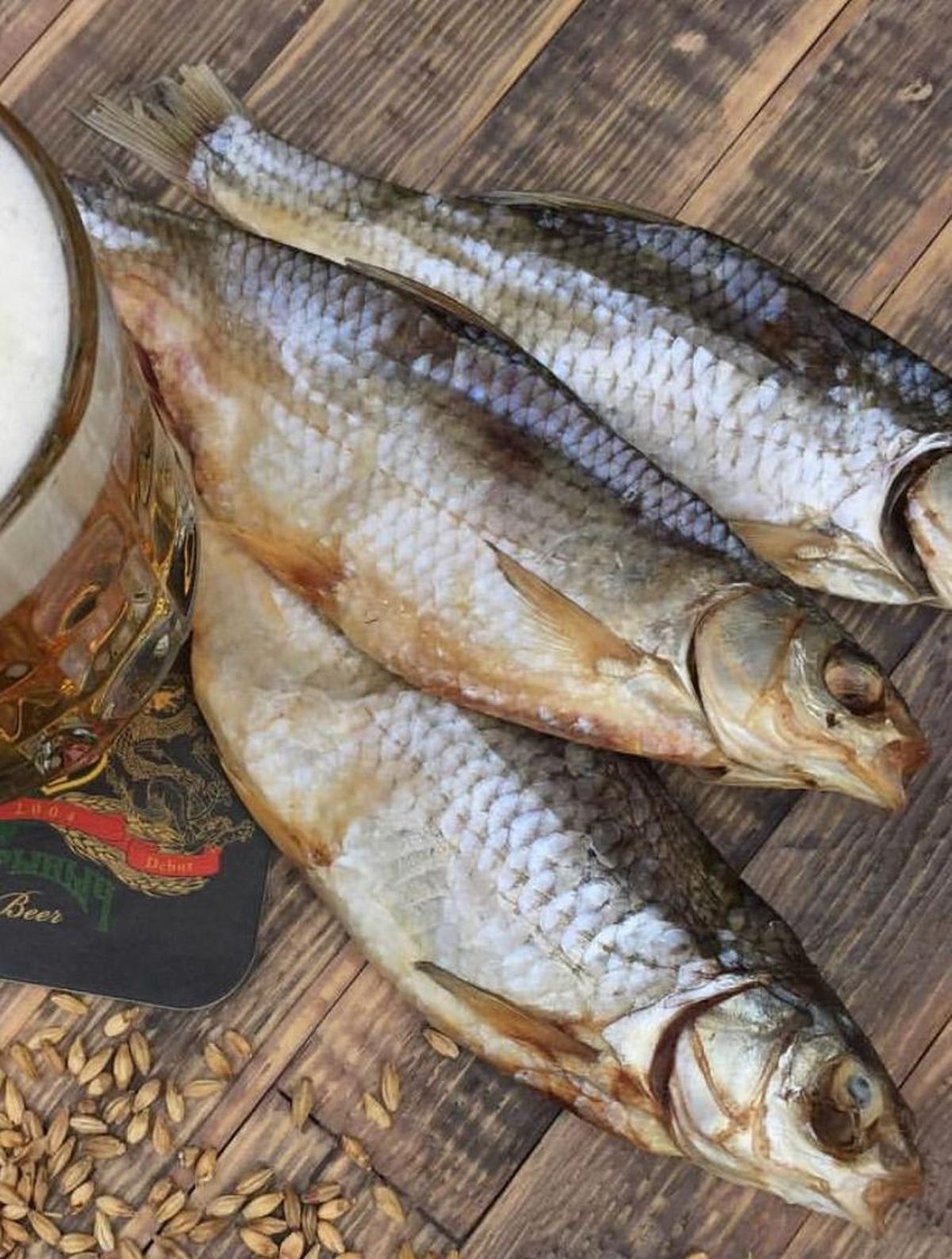 Cá khô Vobla Astrakhan